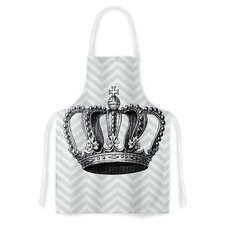 Crown by Suzanne Carter Blue Artistic Apron