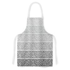 Riverside Pebbles by Pom Graphic Design Artistic Apron