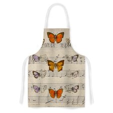 Butterfly Opera by Suzanne Carter Music Artistic Apron