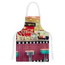 Retro Diner by Sylvia Cook Coca Cola Artistic Apron