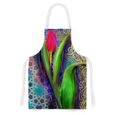 Arabesque Tulip by S. Seema Z Artistic Apron
