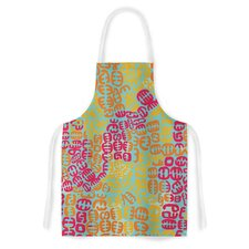 Oliver by Theresa Giolzetti Magenta Artistic Apron
