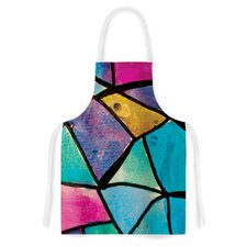 Stain Glass 2 by Theresa Giolzetti Artistic Apron