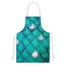 Mermaid Tail Artistic Apron