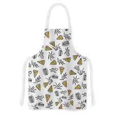 Burgers and Pizza Artistic Apron