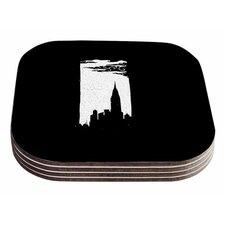 Chrysler Building by BarmalisiRTB Coaster (Set of 4)