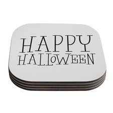 Happy Halloween Coaster (Set of 4)