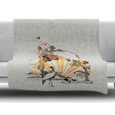Art Nouveau Tune by Frederic Levy-Hadida Fleece Blanket