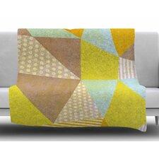 Geometric by Louise Machado Fleece Blanket