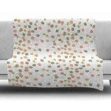 Autumn Spots by Yenty Jap Fleece Blanket