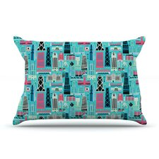 My Kind of Chicago by Allison Beilke 40 by 20-Inch Featherweight Sham, King