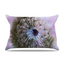 Dandelion Clock by Alison Coxon Featherweight Pillow Sham