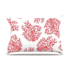 Coral by Anchobee Cotton Pillow Sham