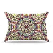 Plum Lace by Allison Soupcoff Cotton Pillow Sham