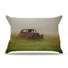 Forgotten Car by Angie Turner Featherweight Pillow Sham, Grass