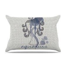 Aquarius by Belinda Gillies Cotton Pillow Sham