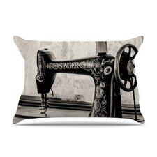 Vintage Home Gray by Debbra Obertanec Cotton Pillow Sham