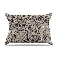 Snowflakes by Akwaflorell Cotton Pillow Sham