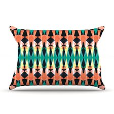 Triangle Visions by Akwaflorell Featherweight Pillow Sham