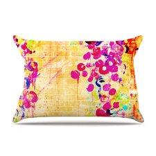 Wall Flowers by Ebi Emporium Cotton Pillow Sham