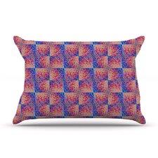 Splash Revisited by Ebi Emporium Blue Cotton Pillow Sham