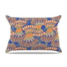 Energy Blue Abstract by Miranda Mol Cotton Pillow Sham