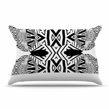 Ocean Retro Vibes by Pom Graphic Design Green Featherweight Pillow Sham
