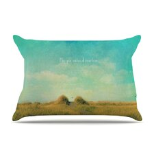 May Your Wishes Blue by Robin Dickinson Cotton Pillow Sham