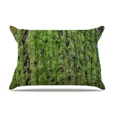 Emerald Moss by Susan Sanders Nature Cotton Pillow Sham