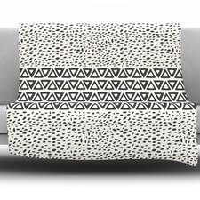 Wind Day by Pom Graphic Design Fleece Throw Blanket