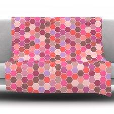 Blush by Nandita Singh Fleece Throw Blanket