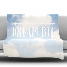 Dream Big Fleece Throw Blanket