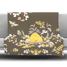 Hope for the Flowers II Fleece Throw Blanket