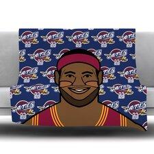 Lebron James Fleece Throw Blanket