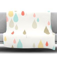Rainy Days Fleece Throw Blanket