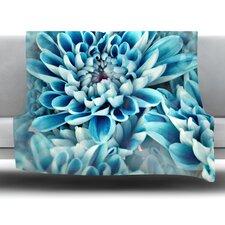 Floral Paradise Fleece Throw Blanket