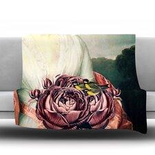 The Bouquet Fleece Throw Blanket