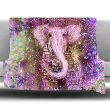 Pink Dust Magic Fleece Throw Blanket