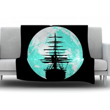 Voyage by Micah Sager Fleece Throw Blanket