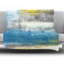 Make A Statement by CarolLynn Tice Fleece Throw Blanket