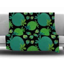 Garden Pods by Jane Smith Fleece Blanket