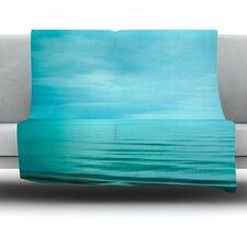 Calm Sea Fleece Throw Blanket