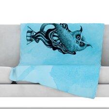 Owl III Throw Blanket