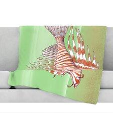 Fish Manchu Throw Blanket