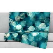 Shades of Blue Throw Blanket