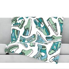 Sneaker Lover III Throw Blanket