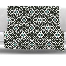 Geometric Fleece Throw Blanket