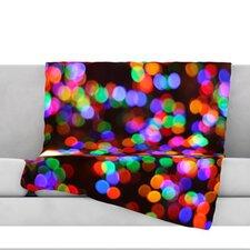 Lights II Fleece Throw Blanket
