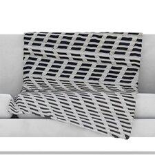 The Grid Fleece Throw Blanket