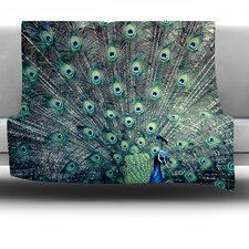 Majestic by Ann Barnes Fleece Throw Blanket